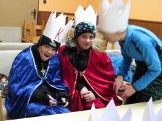 My tři králové jdeme v dešti k vám.... 10.1.