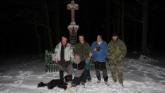 Zimní bivak na sněhu u Křížku 31.1.