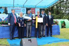 Slavnostní předávání ocenění vítězům soutěže Vesnice Královéhradeckého kraje roku 2016