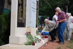 Odhalení památníku obětem 1.světové války
