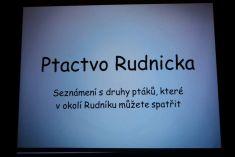 Přednáška - Ptactvo Rudnicka- Zdeněk Voňka 9.12.
