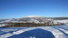 Rudník pod sněhem - Leden 2017
