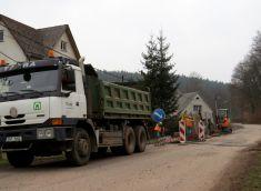 Kanalizace Bělidlo směr Terezín