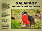 GALAPÁGY - neobyčejné ostrovy